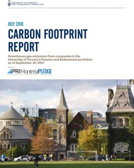Carbon Footprint Report July 2018