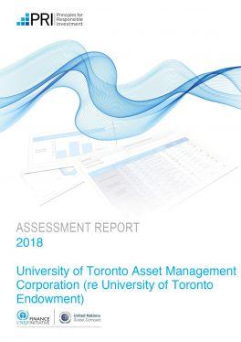 PRI Assessment Report Endowment