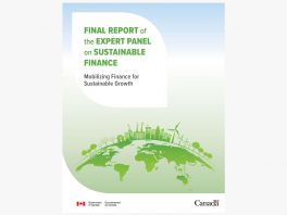 Cover of Sustainable Finance Report