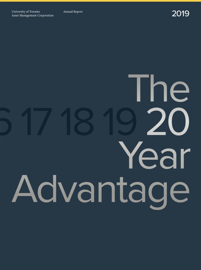 Cover of UTAM Annual Report 2019.