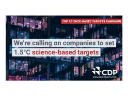 CDP Science-Based Targets Campaign