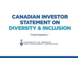 Canadian Investor Statement on Diversity & Inclusion - Proud Signatory