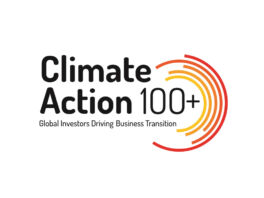 Climate Action 100+ logo.