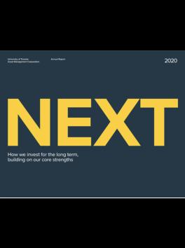 Cover of UTAM Annual Report 2020.