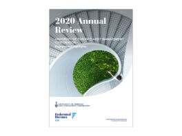Cover of the 2020 Annual Review from EOS at Federated Hermes.